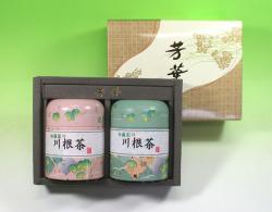 【法事・香典返し】川根特上煎茶150g缶入詰合せ